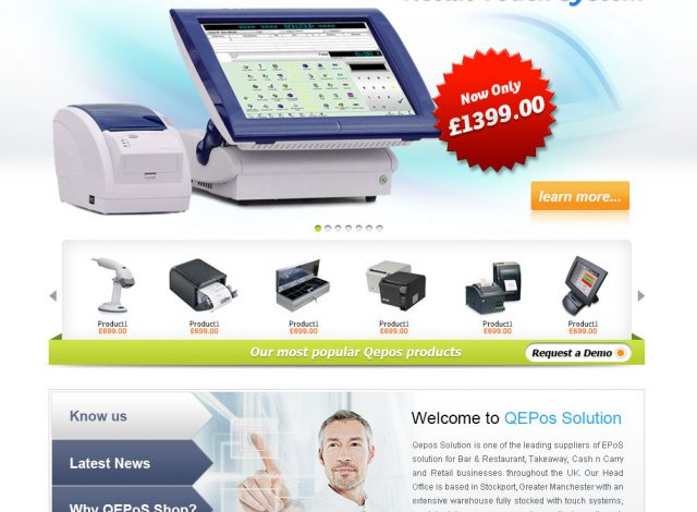 POS eCommerce Website Solution
