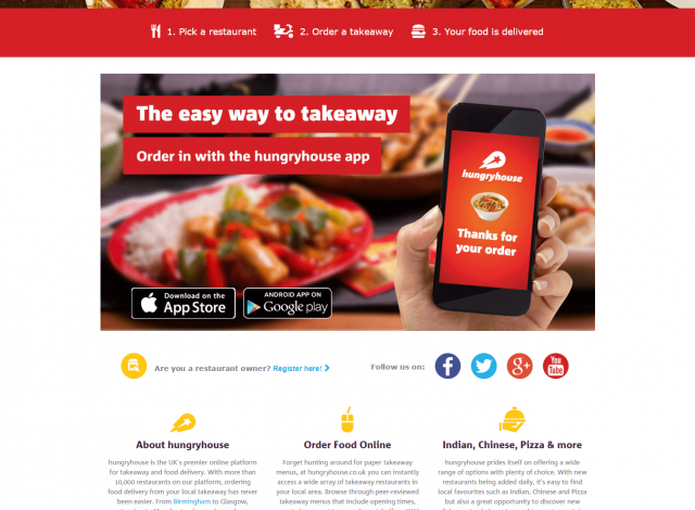 Online Restaurant Website